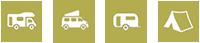 Nutzbar mit Wohnmobil, Wohnwagen und Zelt