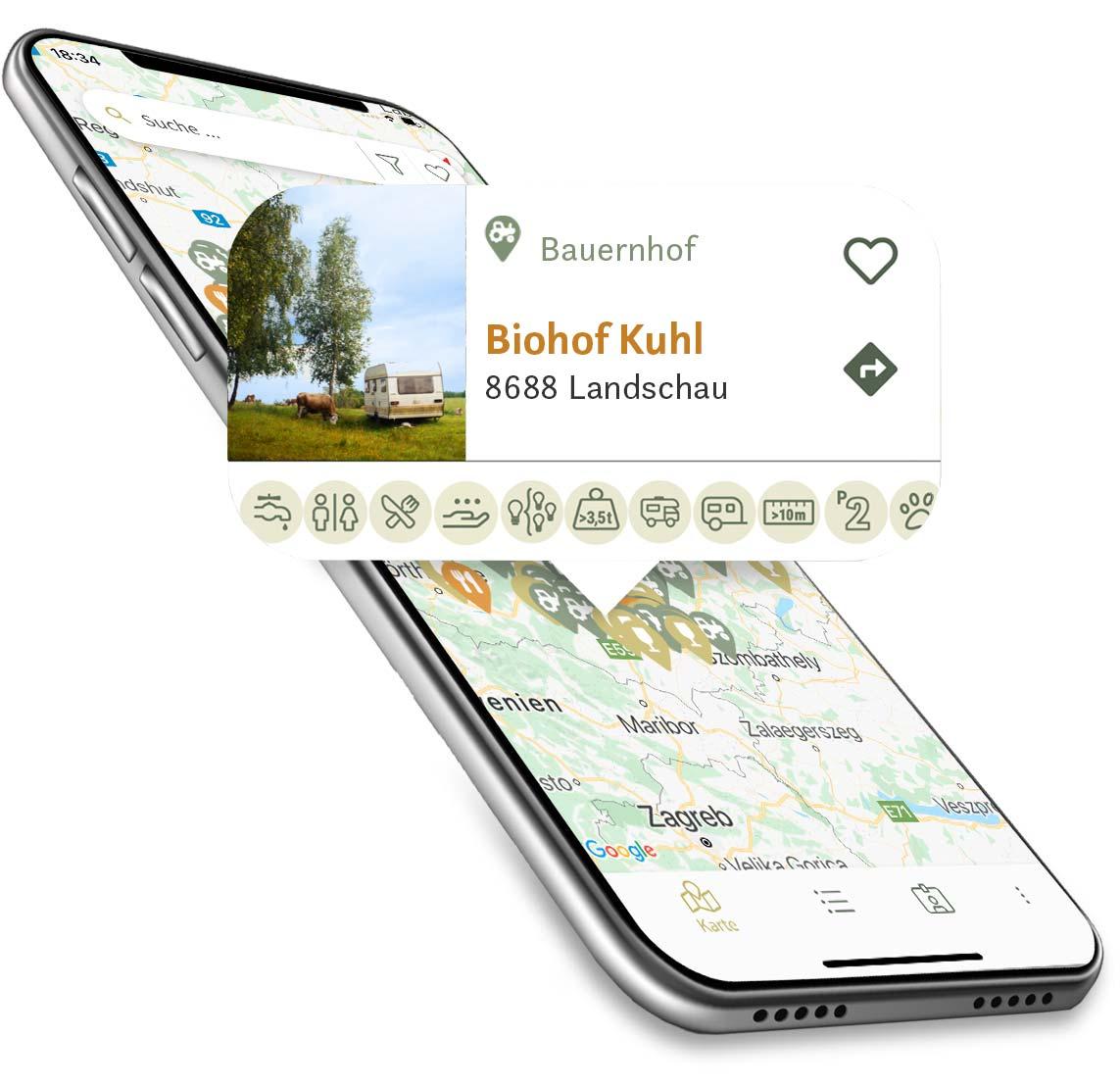 Die App von Schau aufs Land